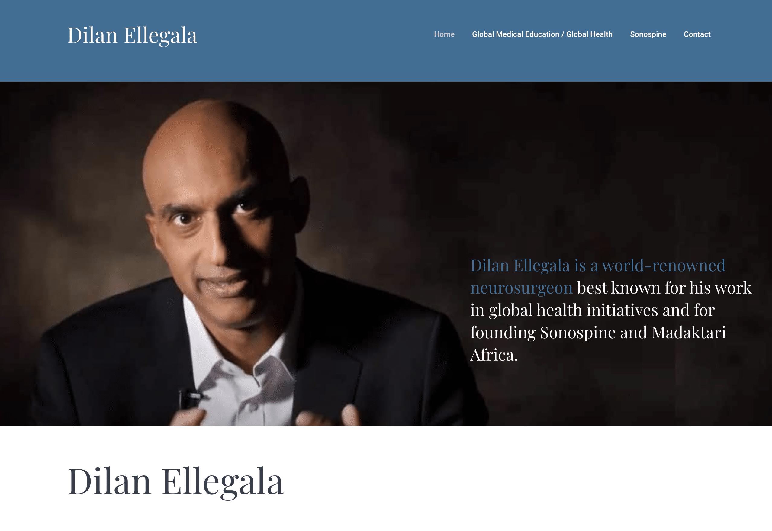 Dilan-Ellegala Homepage