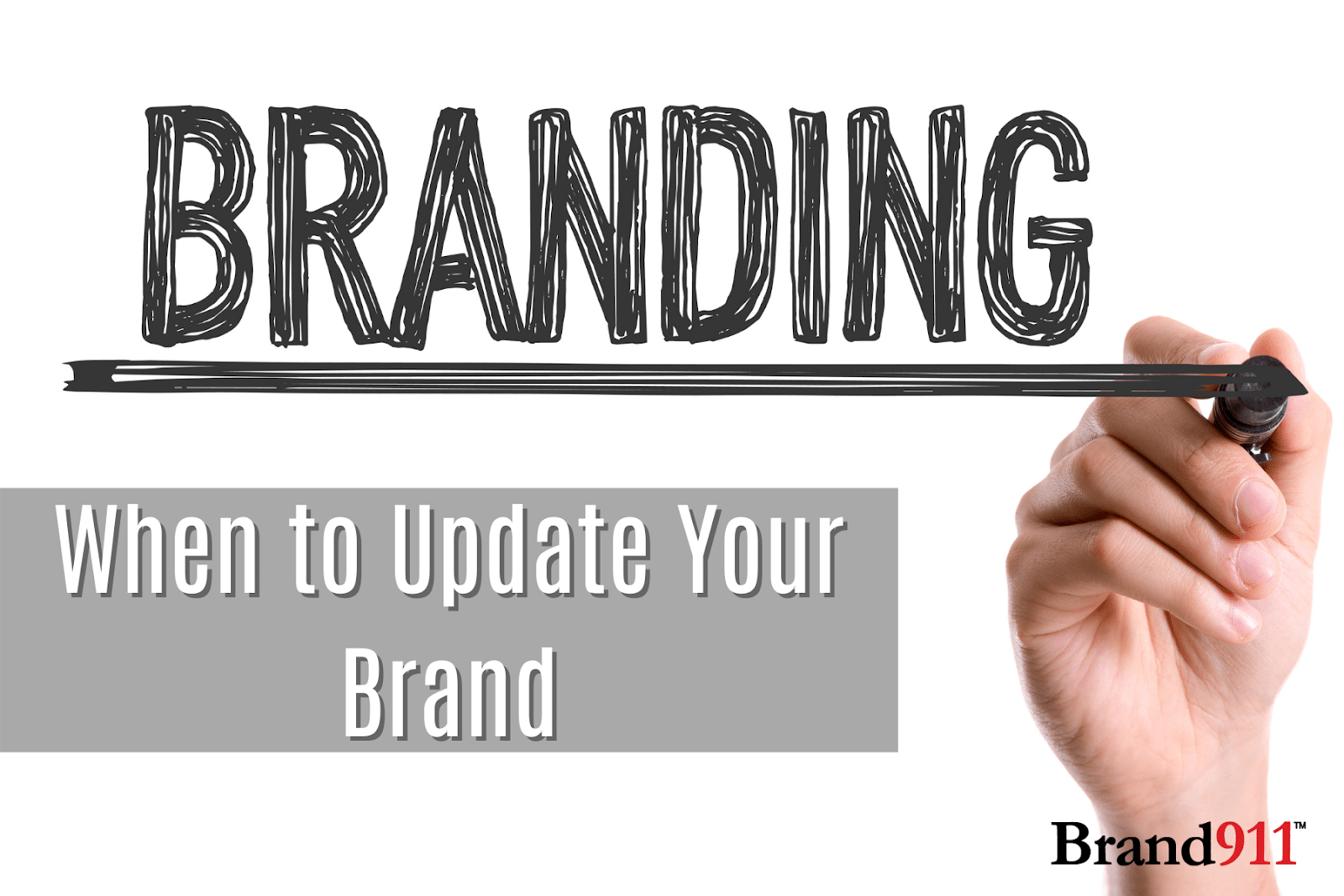 When to Update Your Brand - Brand Refresh